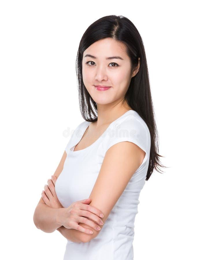 confident woman στοκ φωτογραφία