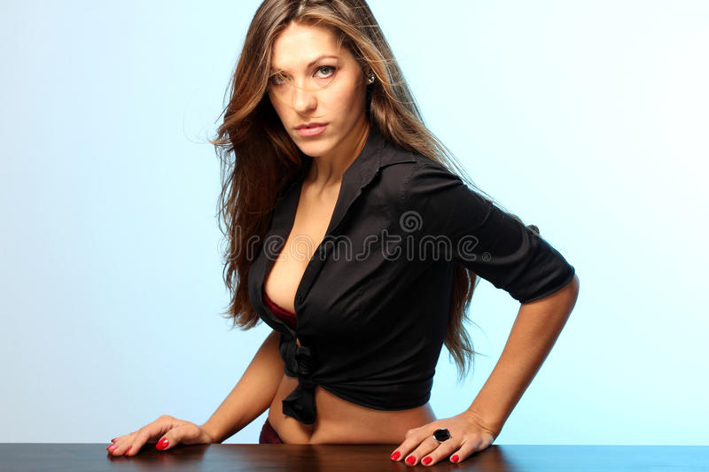 Confident woman royalty free stock images