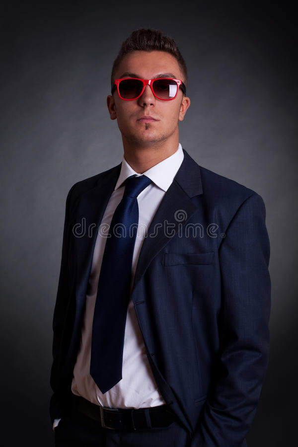 Download Confident Young Business Man Stock Image - Image: 21579095