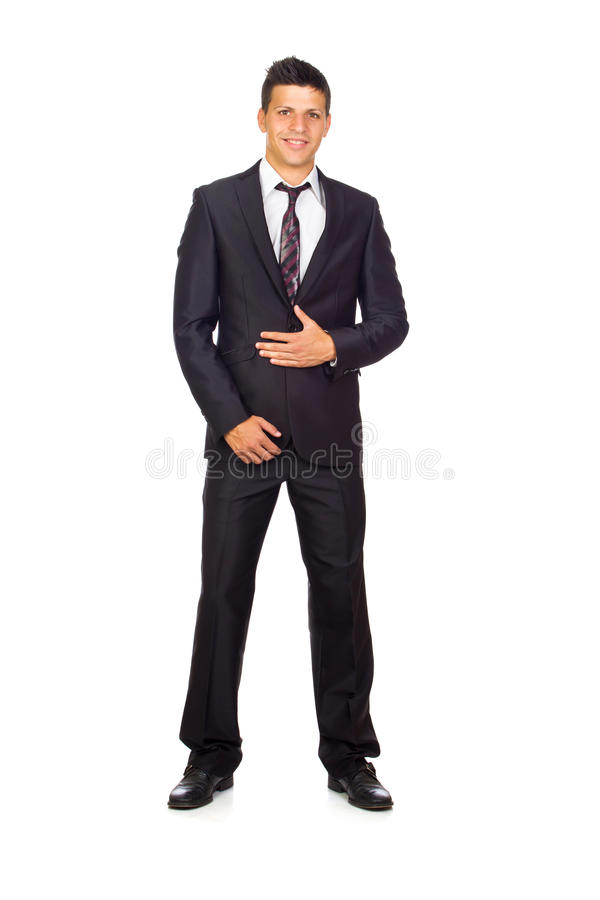 Download Confident Young Business Man Stock Photo - Image of person, caucasian: 26920330