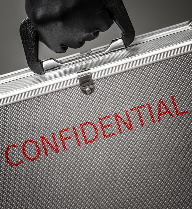 Download Confidential briefcase stock image. Image of unknown - 25455629
