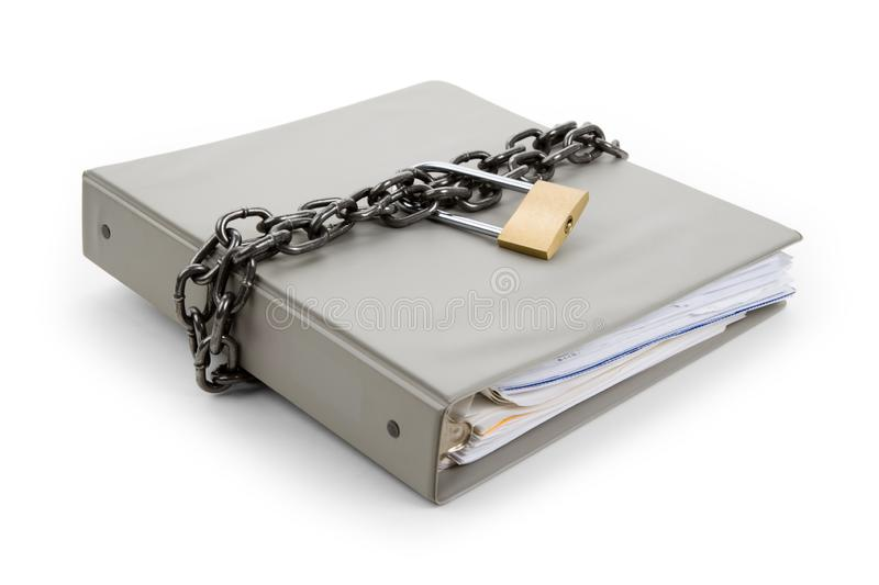 A Confidential Document stock image