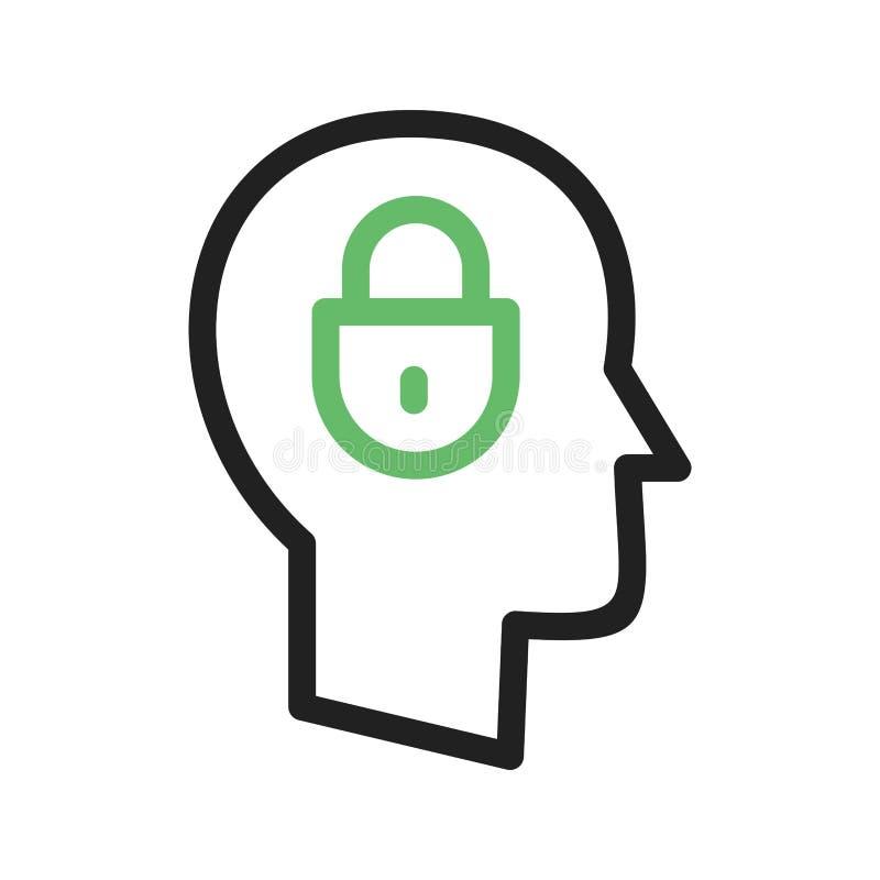 confidentialité illustration libre de droits