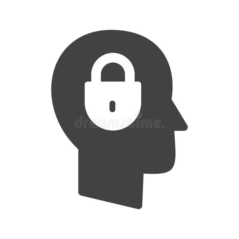 confidentialité illustration stock