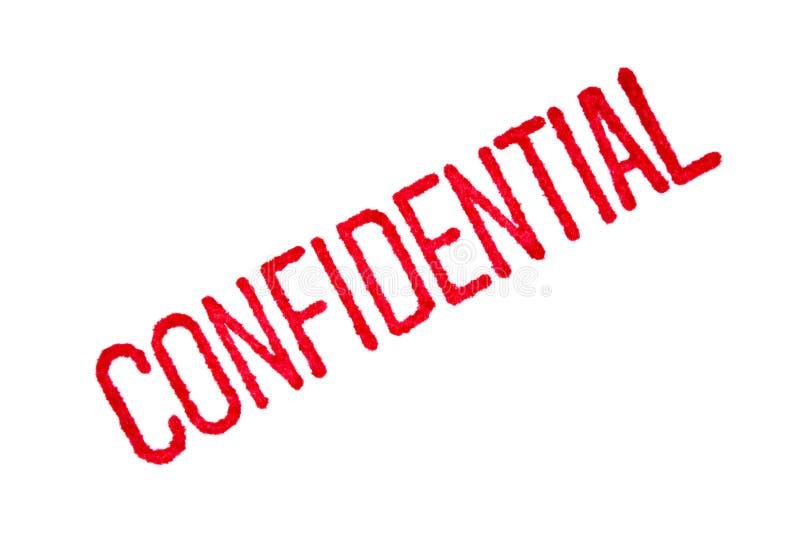 Confidenziale fotografie stock
