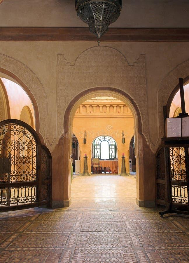 Configuración árabe fotografía de archivo libre de regalías