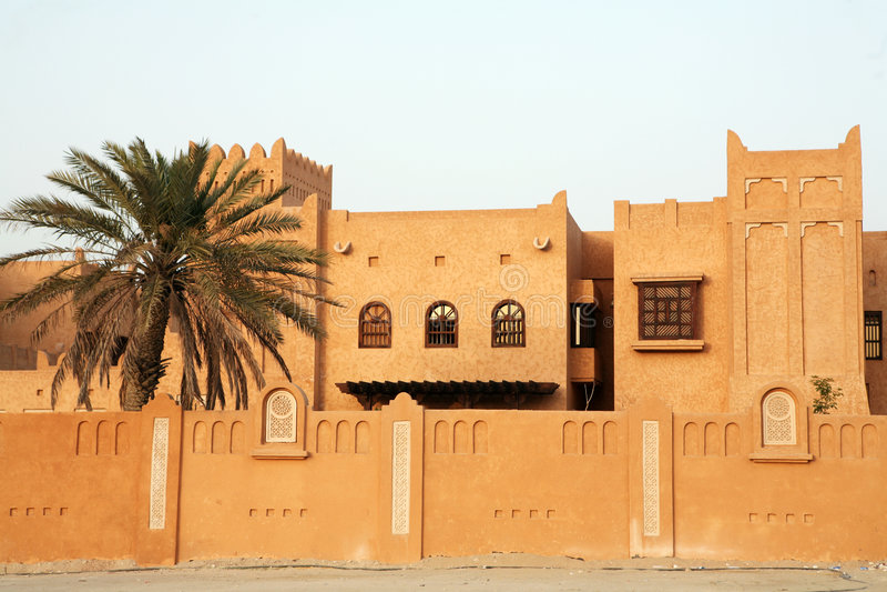 Configuración árabe fotos de archivo