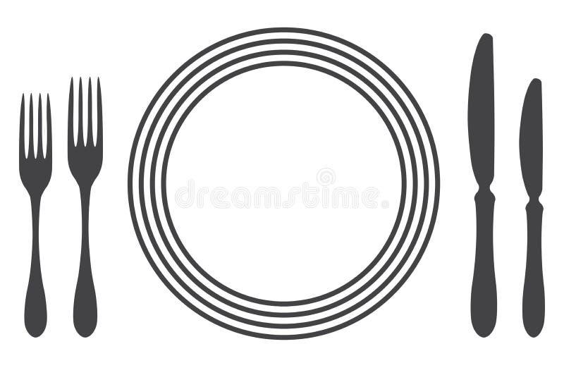 Configuración apropiada del vector de la etiqueta ilustración del vector