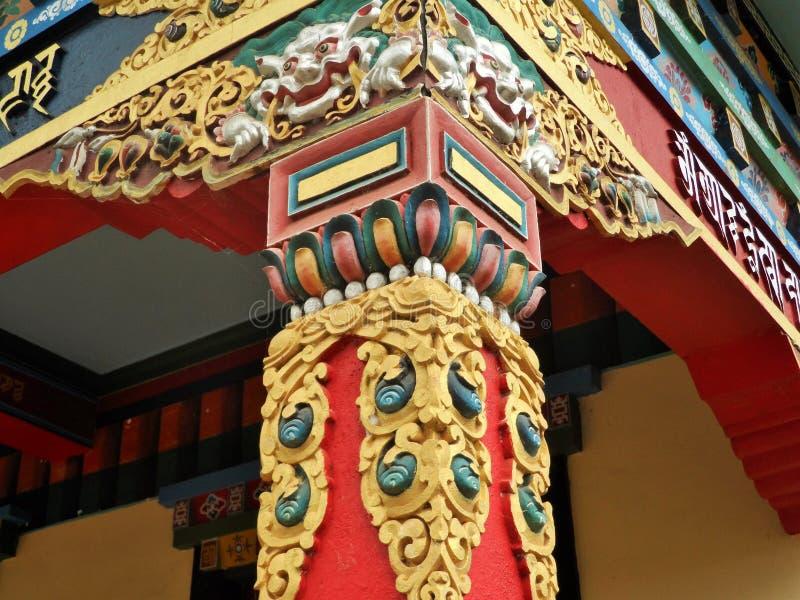 Configuración budista imagen de archivo libre de regalías