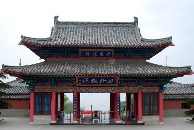 Configuración china foto de archivo