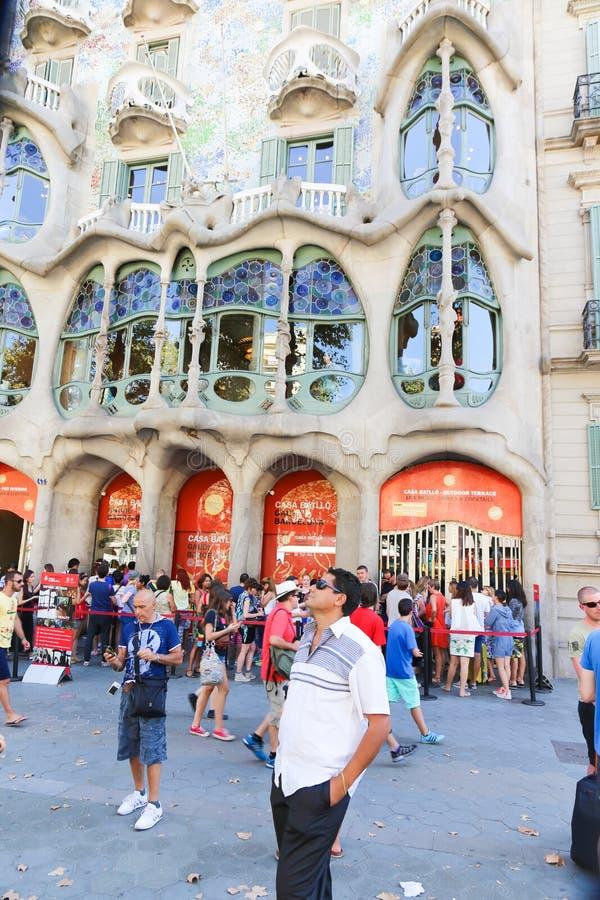 Configuración de Barcelona fotografía de archivo