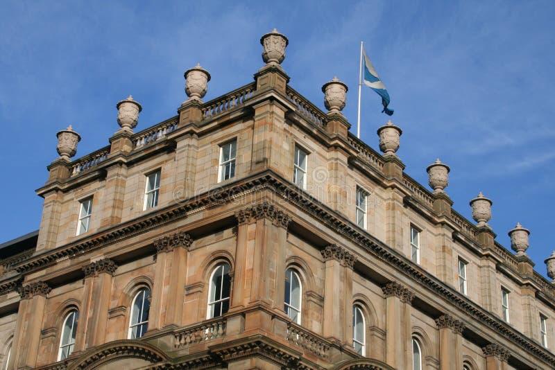 Configuración de Edimburgo fotografía de archivo libre de regalías
