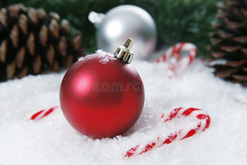 Configuración de la Navidad imagen de archivo libre de regalías