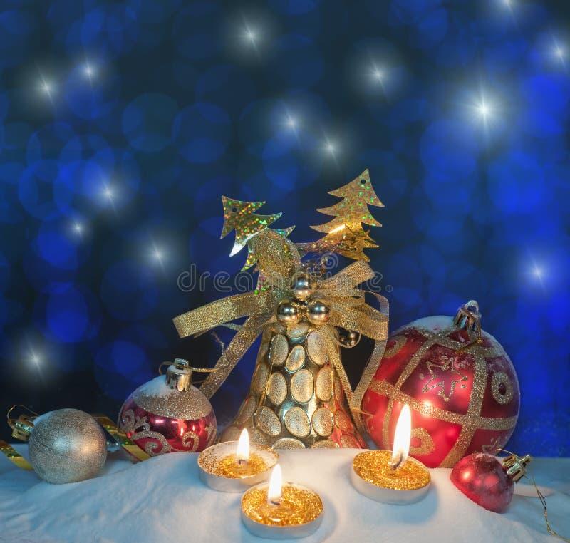 Configuración de la Navidad imagen de archivo