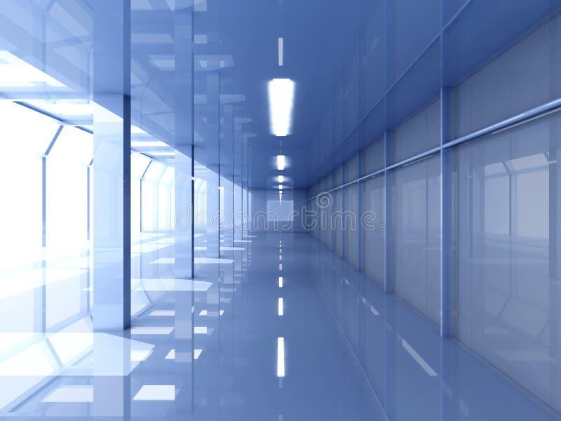 Configuración de la oficina ilustración del vector