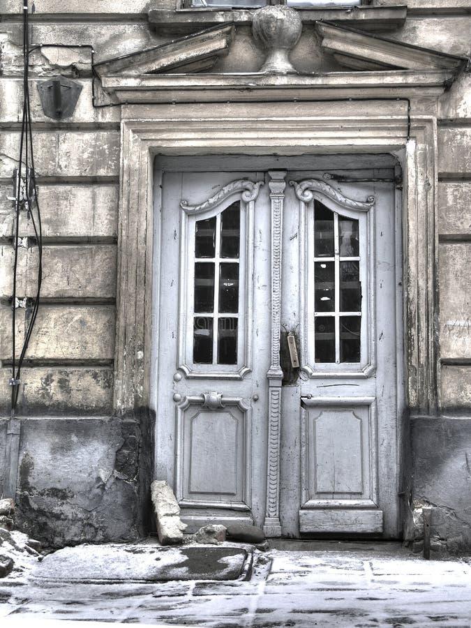 Configuración de Lvov viejo imagenes de archivo