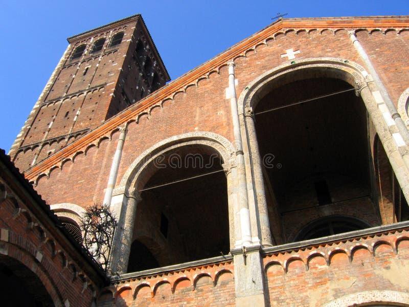 Configuración de Milano - Italia fotografía de archivo libre de regalías
