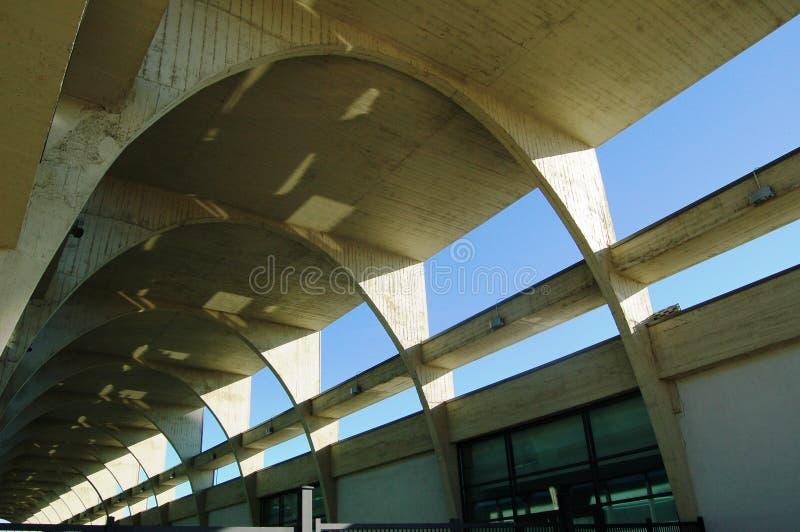 Configuración del concreto reforzado fotografía de archivo libre de regalías