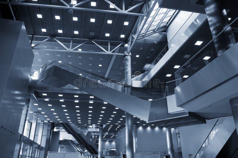 Configuración del edificio moderno foto de archivo libre de regalías