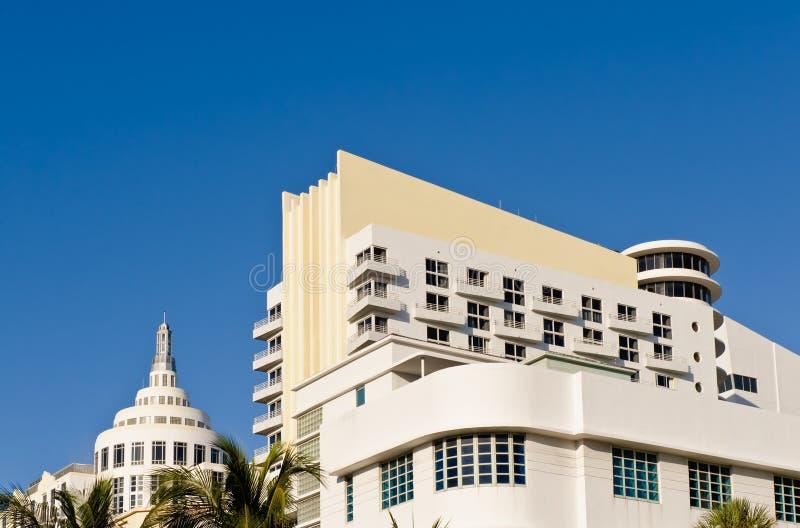 Configuración del hotel de Miami imagenes de archivo