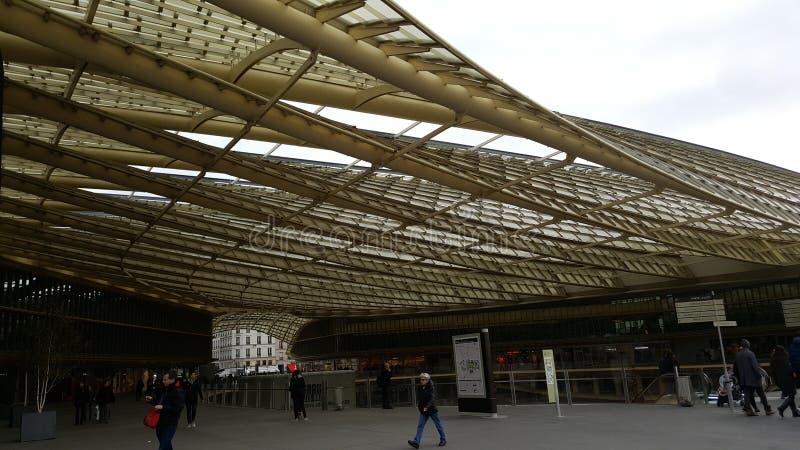 Configuración en París imagenes de archivo