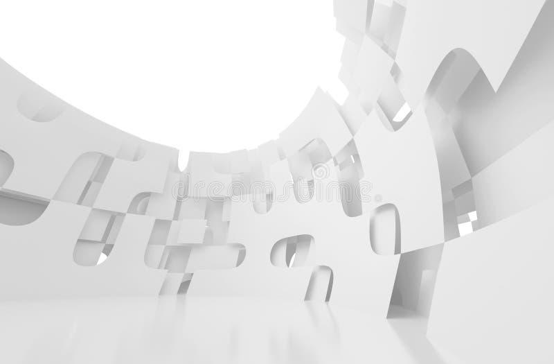 Configuración futurista ilustración del vector