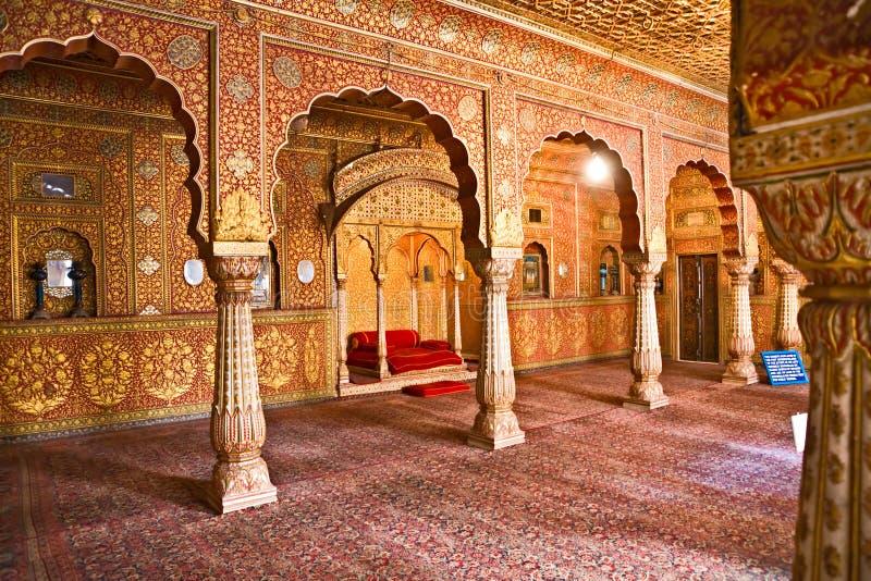 Configuración india típica, la India. imágenes de archivo libres de regalías
