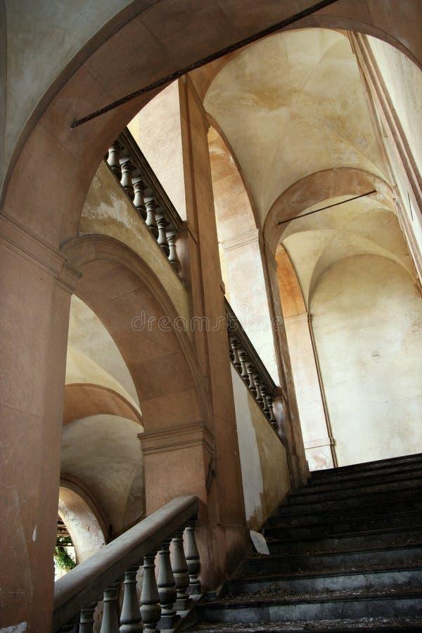 Configuración italiana - interior foto de archivo libre de regalías
