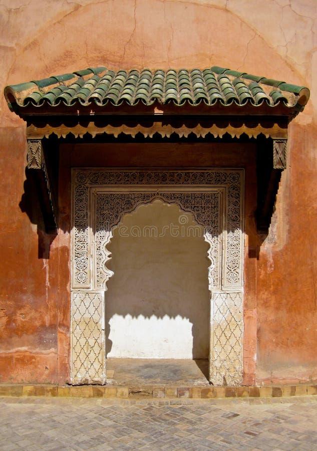 Configuración marroquí fotografía de archivo libre de regalías