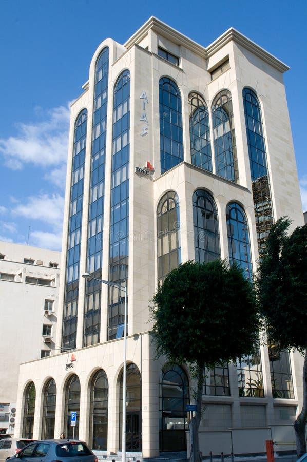 Configuración moderna en Nicosia - Chipre fotografía de archivo libre de regalías
