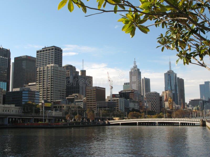 Configuración moderna - Melbourne, Australia imágenes de archivo libres de regalías