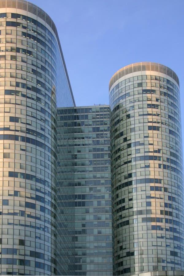 Configuración París del rascacielos fotografía de archivo libre de regalías