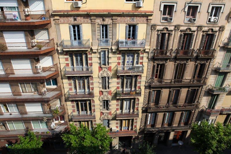 Configuración típica en Barcelona fotos de archivo