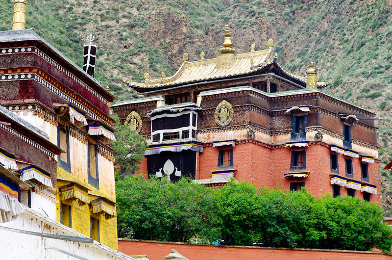 Configuración tibetana imagen de archivo