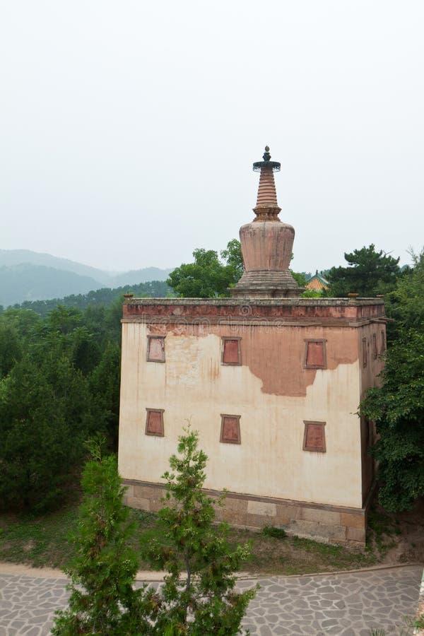 Configuración tibetana en el templo de casos, Chengde, montaña de Putuo fotos de archivo libres de regalías