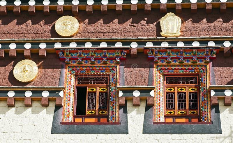 Configuración tibetana tradicional foto de archivo
