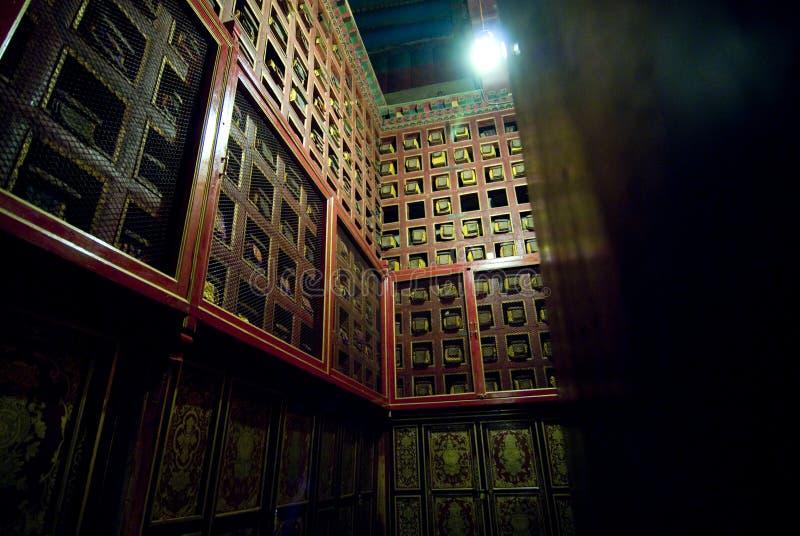 Configuración tibetana tradicional fotos de archivo