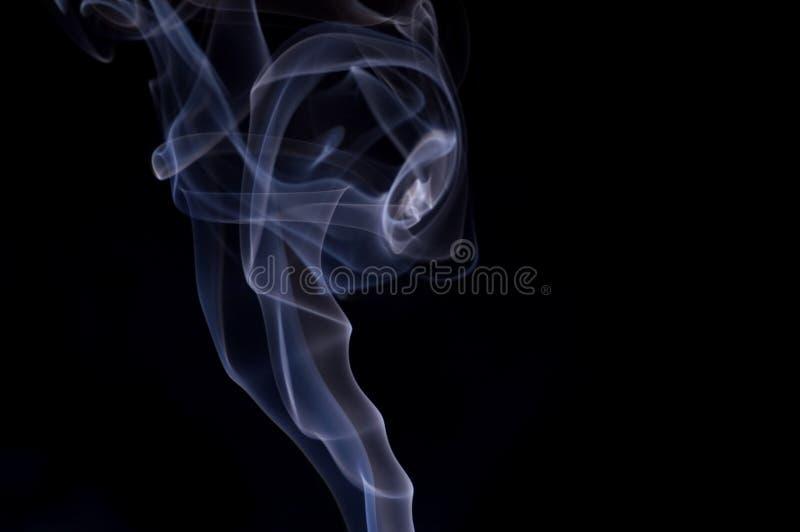 Configuration 1 de fumée photographie stock