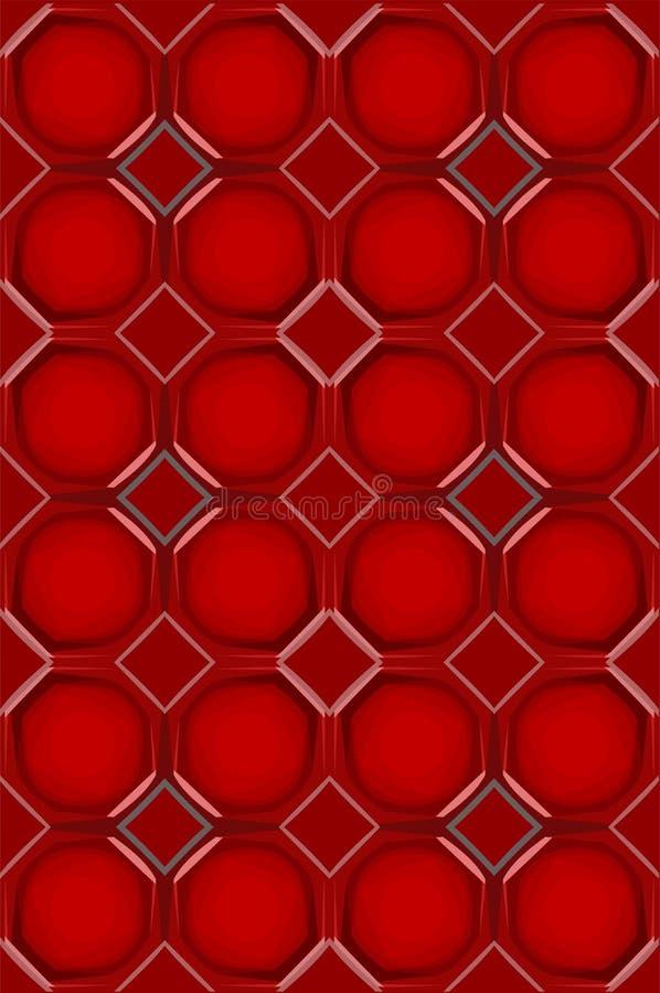 Configuration abstraite illustration de vecteur