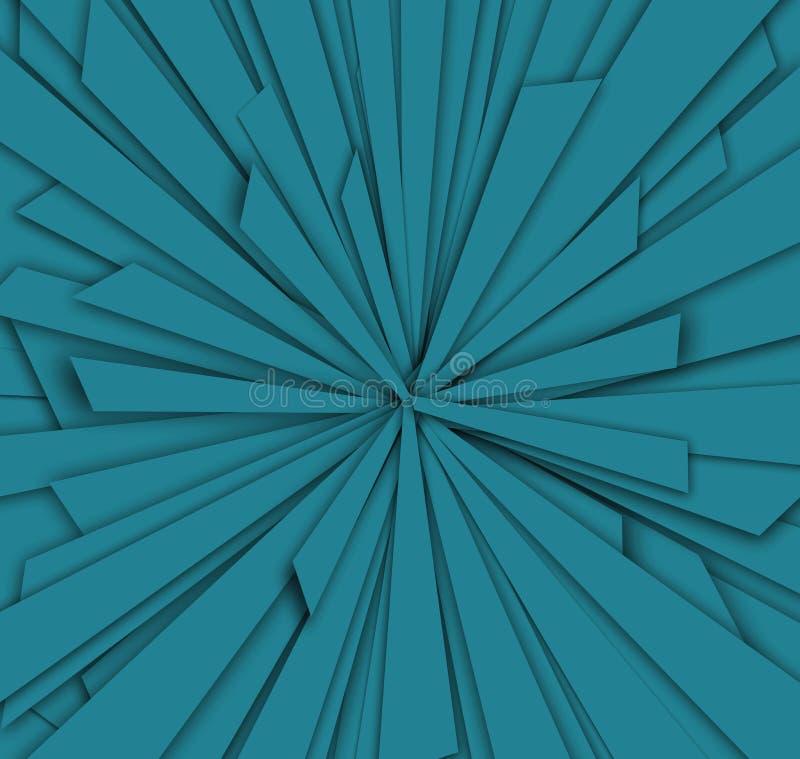 Configuration abstraite bleue photo libre de droits