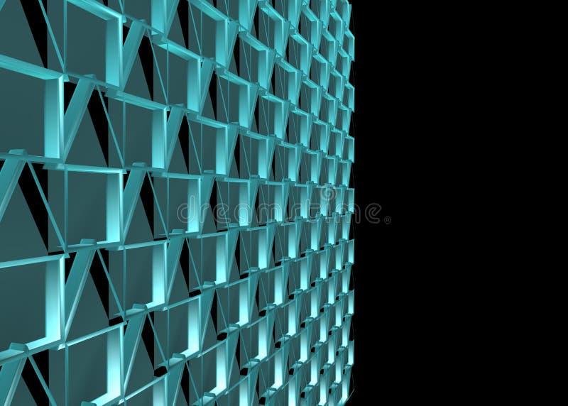 Configuration abstraite de conception illustration de vecteur