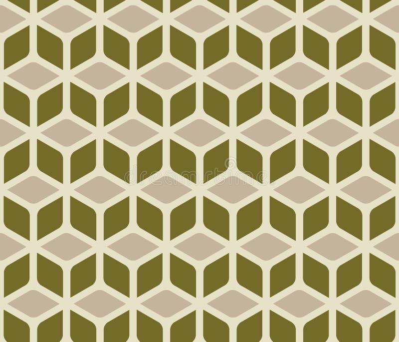 Configuration abstraite de cube illustration stock