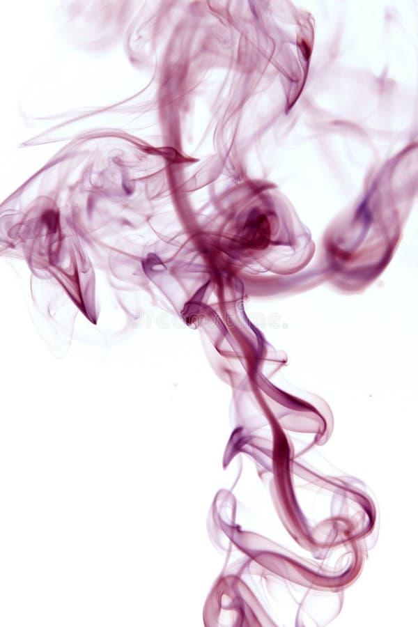 Configuration abstraite de fumée image libre de droits