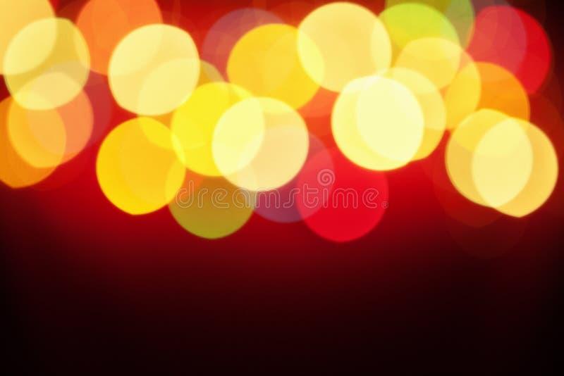 Configuration abstraite de lumière de tache floue images stock