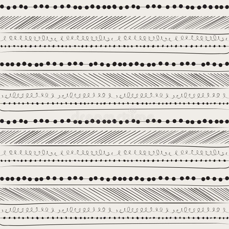 Configuration abstraite de retrait de main. fond. illustration de vecteur