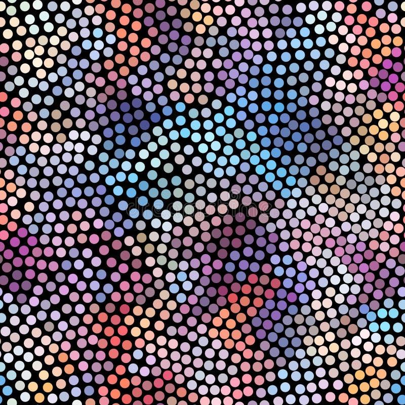 Configuration abstraite géométrique illustration stock