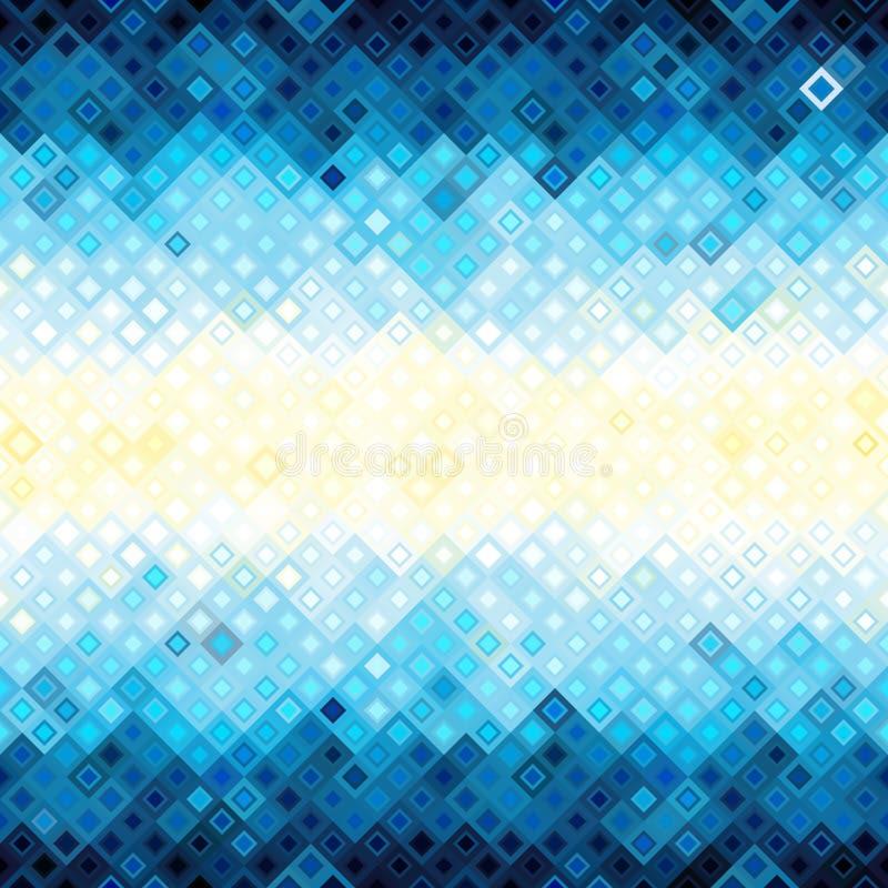 Configuration abstraite géométrique illustration de vecteur