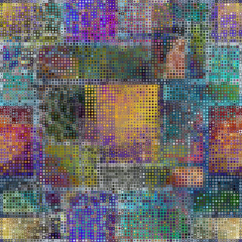 Configuration abstraite géométrique Bas poly fond de vecteur illustration libre de droits