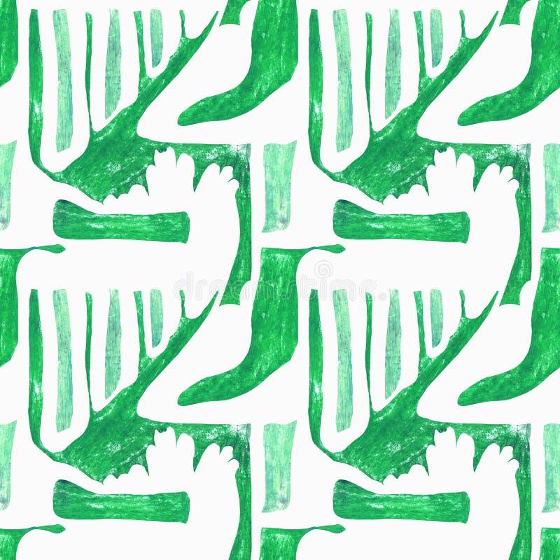 Configuration abstraite sans joint illustration stock