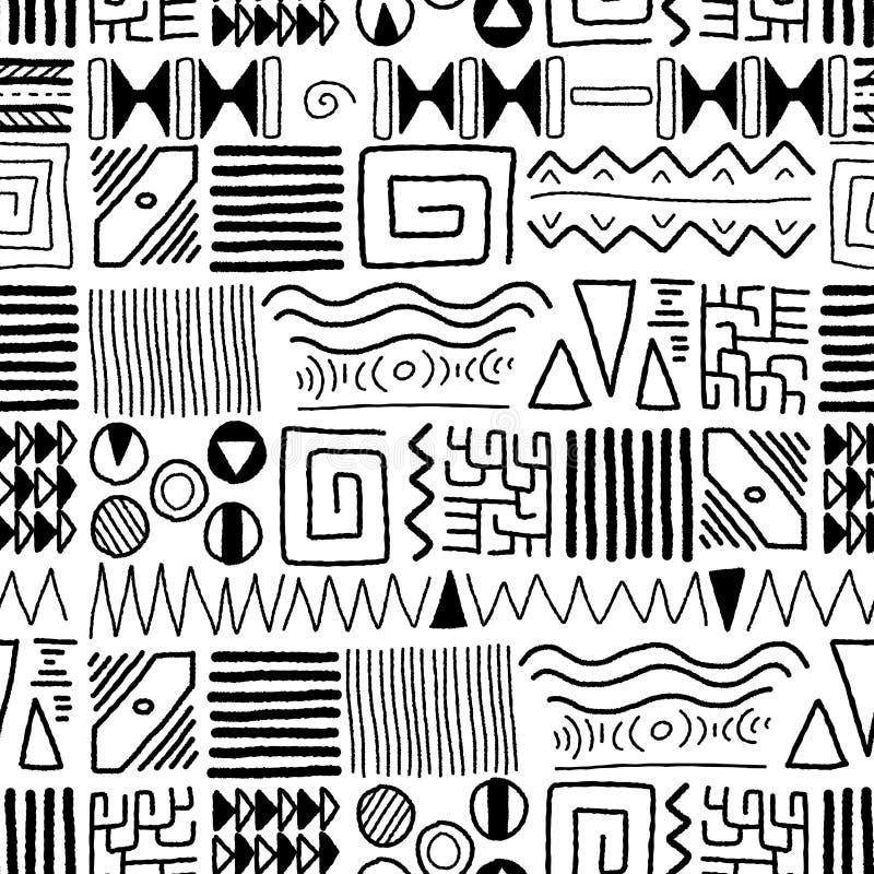 Configuration africaine illustration libre de droits